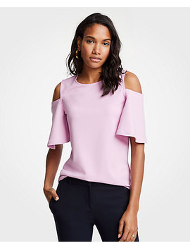 Cold Shoulder Top by Ann Taylor