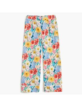 Collection Silk Pull On Pant In Liberty® Floral by Collection Silk Pull On Pant In Liberty