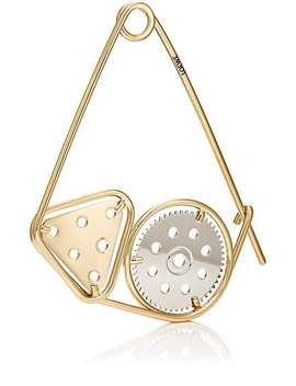 Meccano Double Pin Bag Charm by Loewe