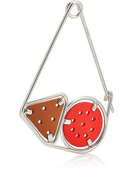 Small Meccano Double Pin Bag Charm by Loewe