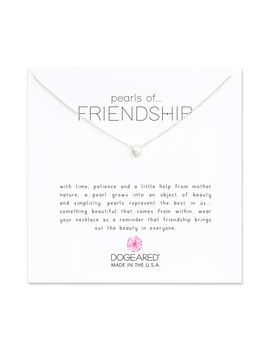 Pearls Of Friendship Small White Pearl Necklace, Sterling Silver by Dogeared
