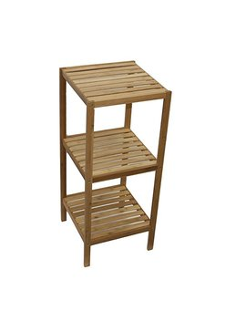 Down Under Bamboo 3 Tier Storage Shelves by Amazon