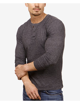 Men's Mock Neck Button Henley by Lucky Brand