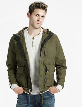 Courdroy Trim Parka by Lucky Brand