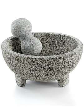 Granite Mortar & Pestle Molcajete by Imusa
