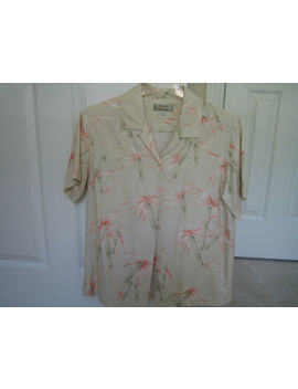 Tommy Bahama Womens Ss Button Front Shirt/Top/Blou<Wbr>Se   Xs (X Small)   Ni Ce!! by Tommy Bahama