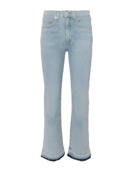 Jackie Cropped Jeans by Veronica Beard