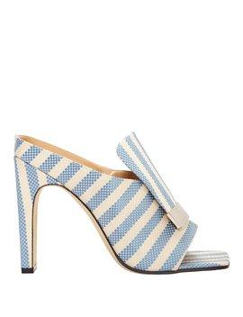 Portofino Striped Sandals by Sergio Rossi