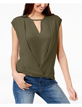 I.N.C. Keyhole Crossover Top, Created For Macy's by Inc International Concepts