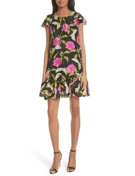 Jill Large Calla Lily Shift Dress by Milly