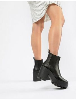 Asos Design Element Chunky Chelsea Boots by Asos Design