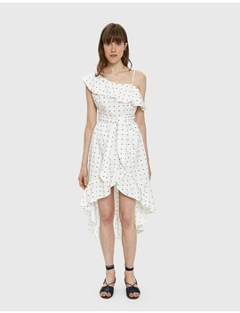 Julia Polka Dot High Low Dress by Need Supply Co.