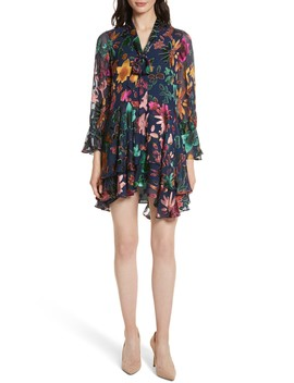 Moore Layered Skirt Tunic Dress by Alice + Olivia