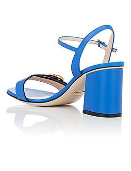 Marmont Leather Sandals by Gucci