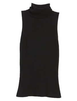 Sleeveless Turtleneck Top by Anne Klein