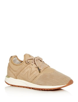 Women's 247 Knit Lace Up Sneakers by New Balance