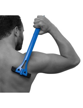 Ba Kblade 1.0   Back Hair Removal And Body Shaver (Diy), Easy To Use Extra Long Handle For A Close, Pain Free Shave, Wet Or Dry Disposable Razor Blades With Refill Replacement Cartridges... by Ba Kblade