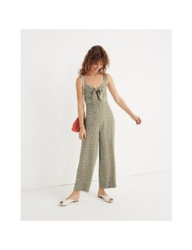 Plumeria Cutout Jumpsuit In Mini Daisy by Madewell