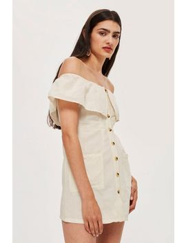 Petite Bardot Mini Dress by Topshop