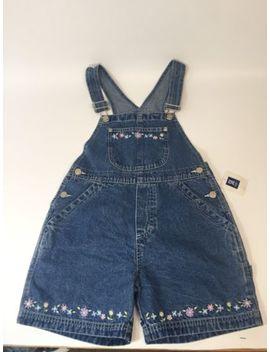 New Women's  So Gsjc Denim Bib Overalls Shorts Size Medium by So