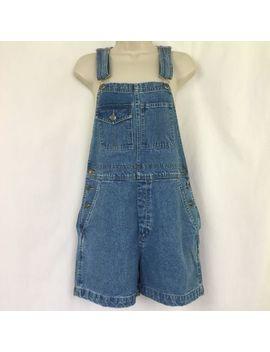 Xhilaration Denim Shortalls Women's Small Bib Overalls Jeans 32x4 by Xhilaration