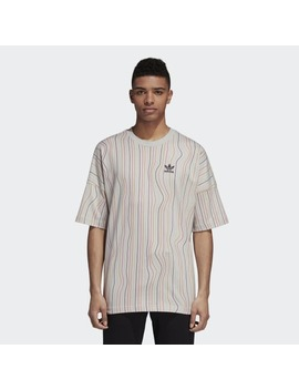 Warped Stripes Tee by Adidas