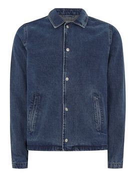 Denim Coach Jacket by Topman