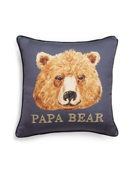 Papa Bear Accent Pillow by Levtex