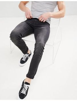 Celio Slim Fit Jeans In Black Wash by Celio