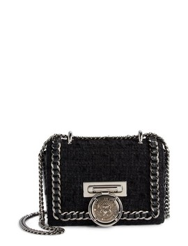 Baby Box Tweed Shoulder Bag by Balmain