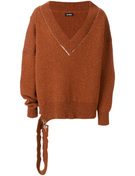 Oversized V Neck Jumperhome Men Clothing Jumpers by Raf Simons