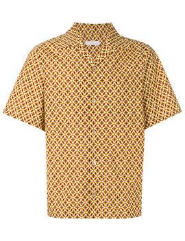 Printed Bowling Shirthome Men Clothing Shirts by Prada