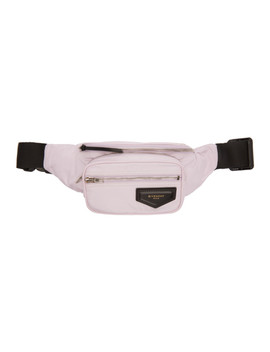 Pink Nylon Bum Bag Pouch by Givenchy