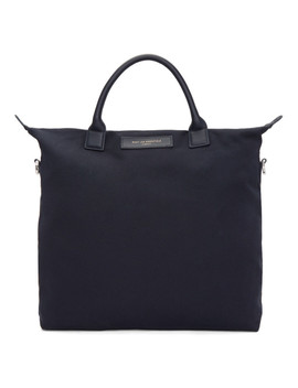 Navy Organic O'hare Tote by Want Les Essentiels