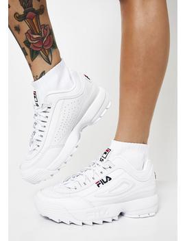 Disruptor Evo Sockfit Sneakers by Fila