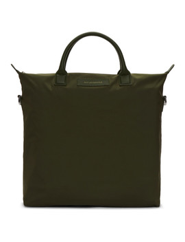 Green O'hare Tote by Want Les Essentiels