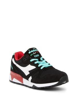 N9000 Iii Nylon & Suede Sneaker by Diadora