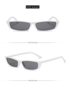 Women Vintage Small Frame Sunglasses Shade Retro Rectangle Uv400 Eyewear Fashion by Unbranded/Generic