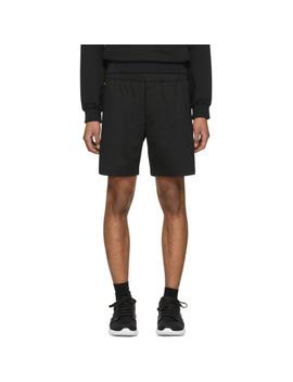 Black Tech Shorts by Prada