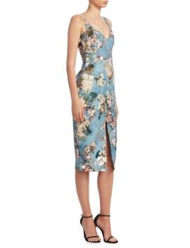 Arielle Floral Print Dress by Nicholas