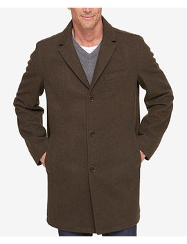 Men's Slim Fit Top Coat by Tommy Hilfiger