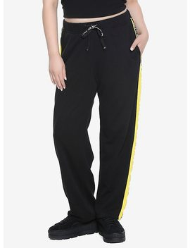 Her Universe Marvel Avengers: Infinity War Mind Stone Athletic Pants Plus Size by Hot Topic