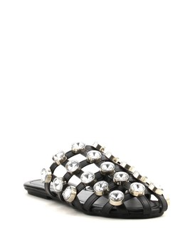 Coma Embellished Cage Mules by Cape Robbin