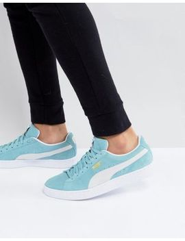 Puma Suede Classic Sneakers In Green 36534708 by Puma