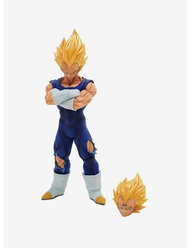 Dragon Ball Z Grandista Resolution Of Soldiers Vegeta Figure by Hot Topic
