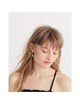 Frond Statement Earrings by Madewell