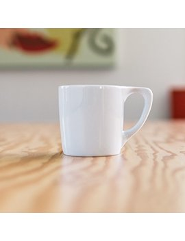 Not Neutral 01501750 R Lino Coffee Mug Gift, Set Of 2, White by Not Neutral