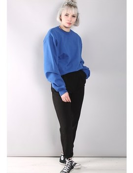 Vintage Blue 80's Sweatshirt by Retro Active