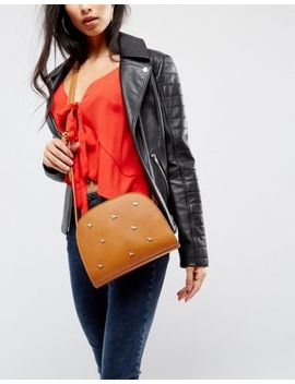 Liquorish Bee Studded Cross Body Bag by Liquorish