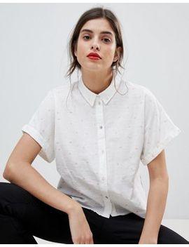 Esprit – Love Heart – Gepunktetes Hemd by Esprit